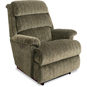Power-Recline-XR RECLINA-ROCKER® ReclinerPower-Recline-XR RECLINA-ROCKER® Recliner with Channel-Tufted Back