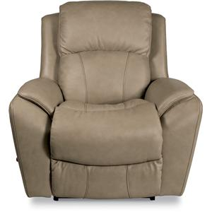 Casual RECLINA-ROCKER® Recliner with Pillow Arms