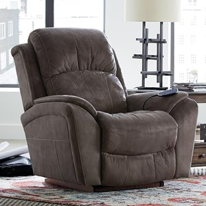 Casual PowerReclineXR+ RECLINA-ROCKER® with Pillow Arms