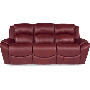 Casual La-Z-Time® Full Reclining Sofa with Pillow Arms