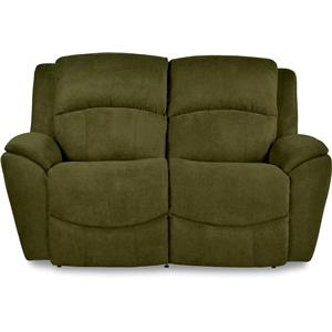 Casual La-Z-Time® Full Reclining Loveseat with Pillow Arms