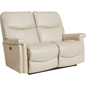 Casual Wall Saver Reclining Loveseat