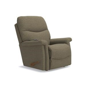 Baylor Rocker Recliner with 2-Motor Massage and Heat