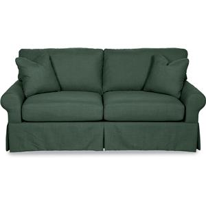 Premier SUPREME-COMFORT™ Queen Sleep Sofa with Large Rolled Arms