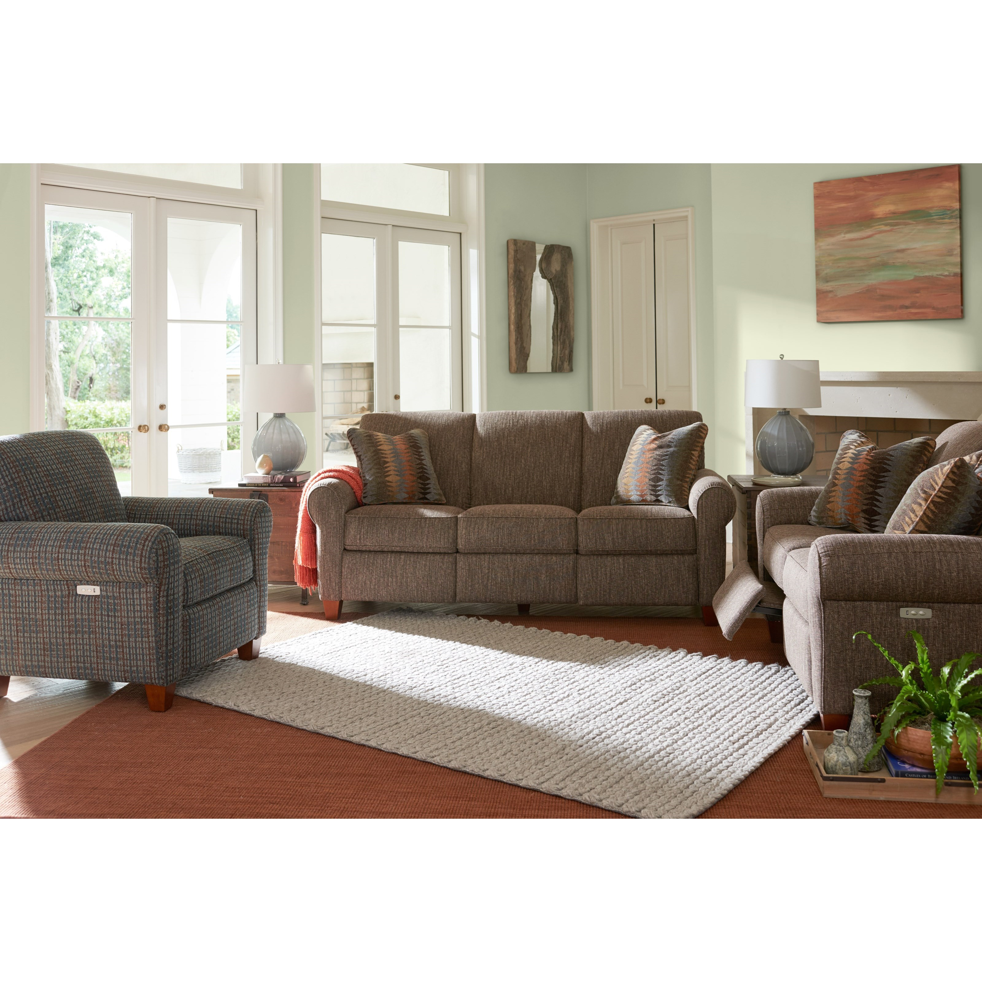 Bennett Reclining Living Room Group by La-Z-Boy at Jordan's Home Furnishings