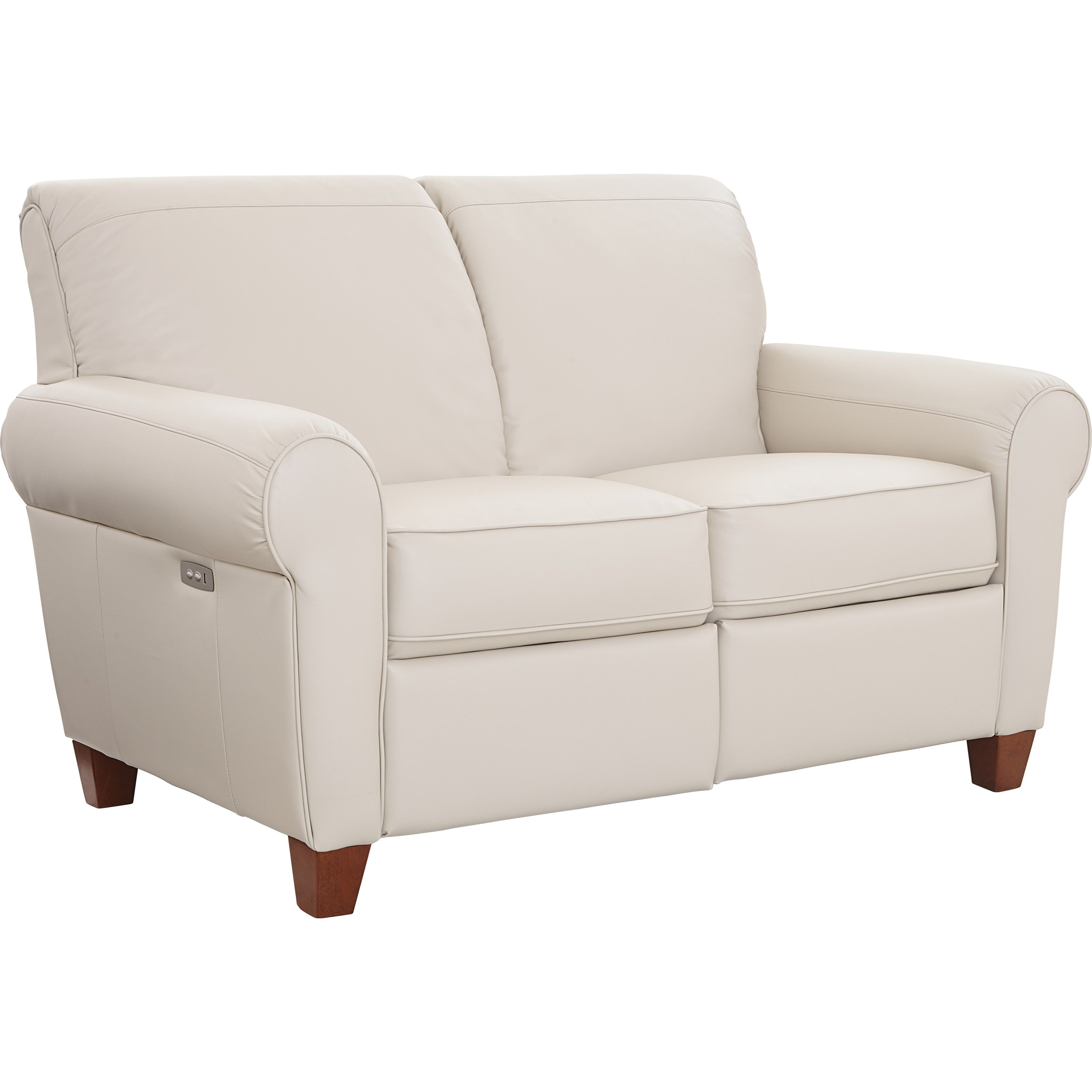 Bennett Duo™ Reclining Loveseat by La-Z-Boy at Fisher Home Furnishings