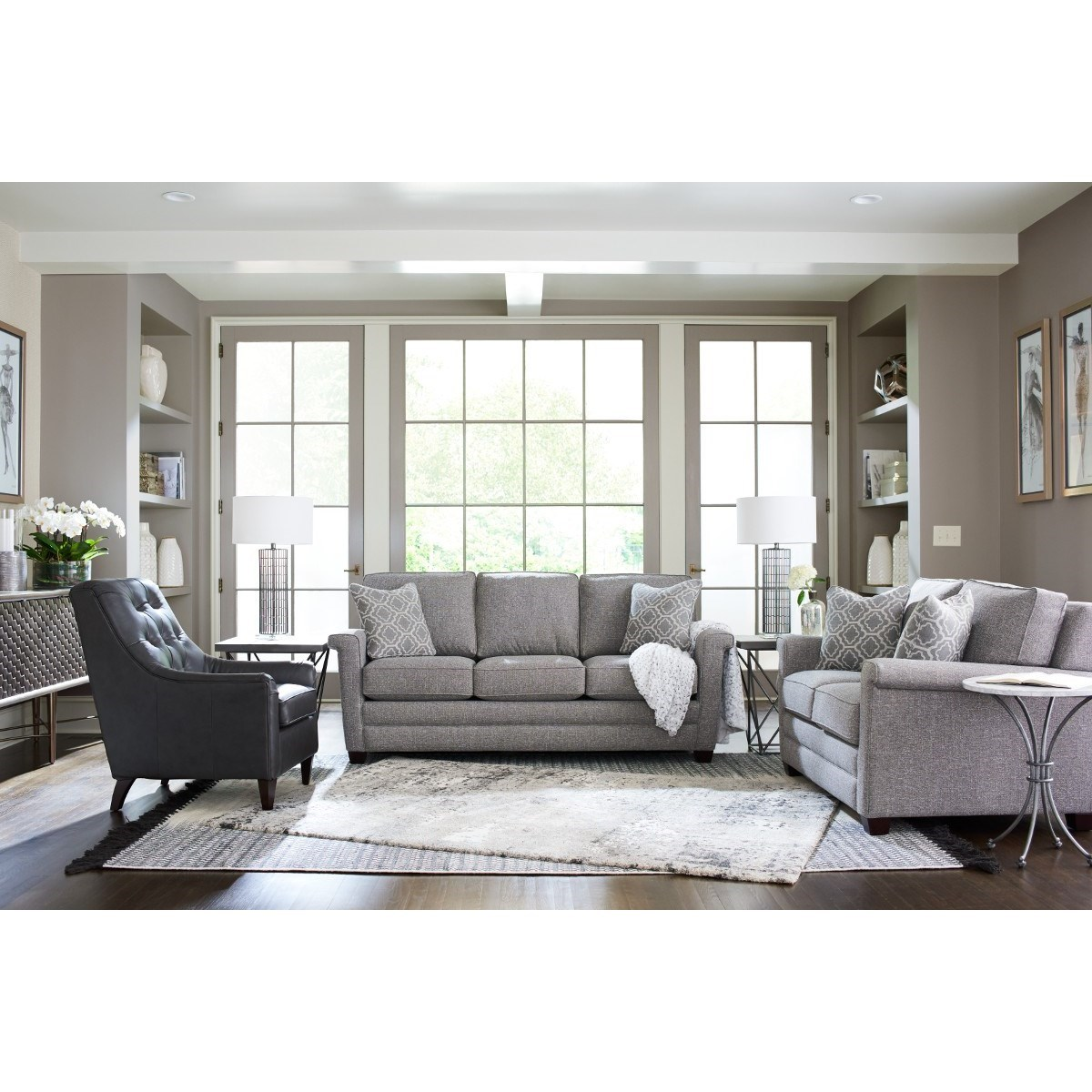 Bexley Living Room Group by La-Z-Boy at Houston's Yuma Furniture