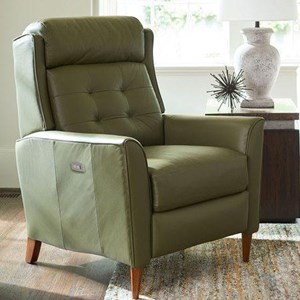 Mid-Century Modern High Leg Power Recliner