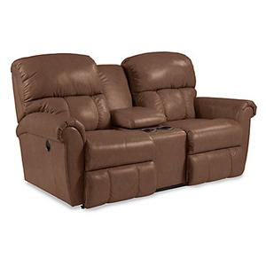 La-Z-Boy Briggs Power Dual Recline Console Loveseat