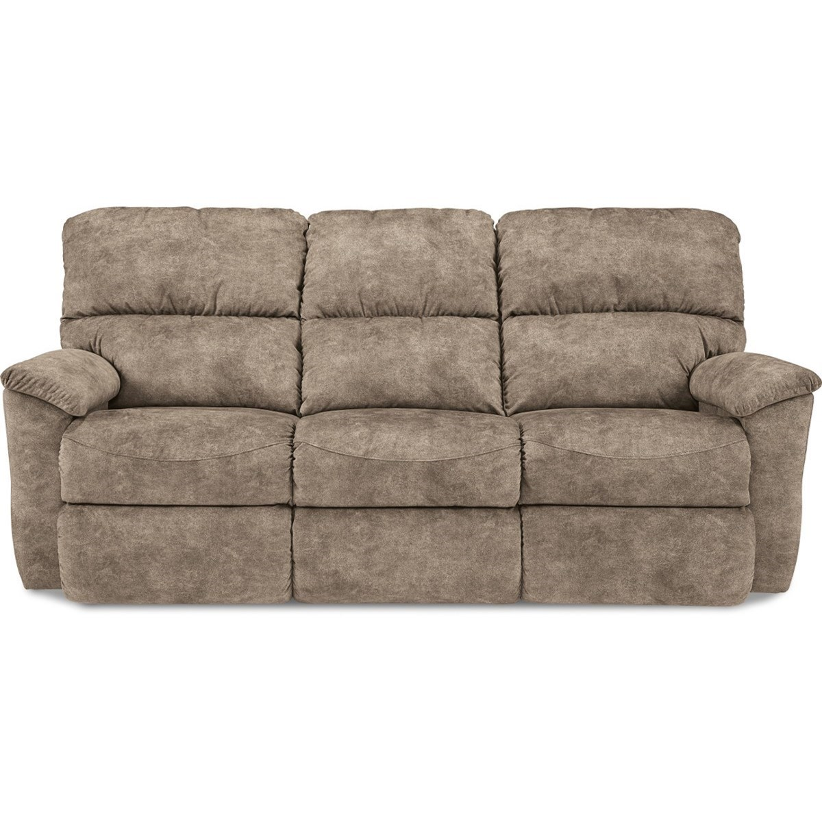 Brooks Power Reclining Sofa w/ Headrests by La-Z-Boy at Jordan's Home Furnishings