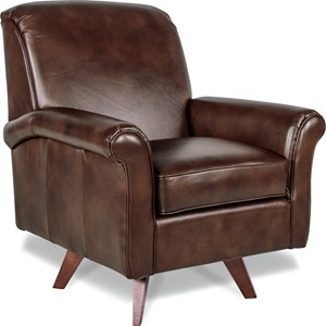 Ronnie High Leg Swivel Chair with ComfortCore Seat Cushion