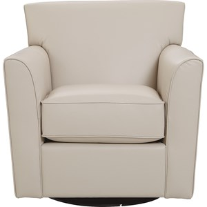 Allegra Swivel Glider with Flared Arms