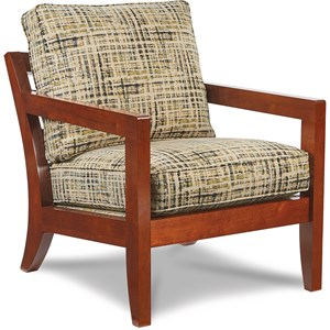 Gridiron Exposed Wood Chair