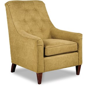 Marietta Upholstered Chair with Sloped Arms