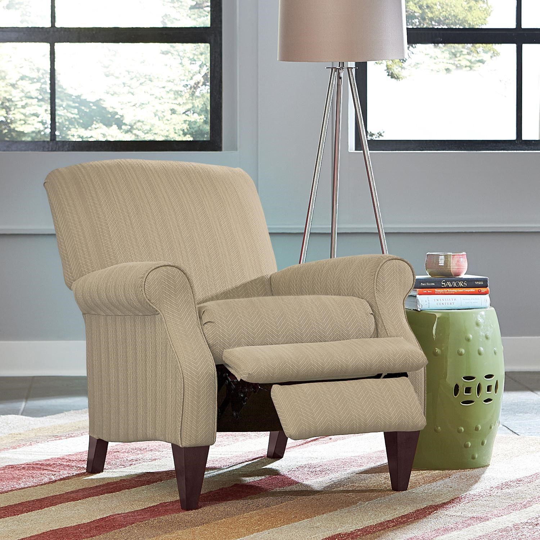 Charlotte High Leg Recliner by La-Z-Boy at Bennett's Furniture and Mattresses