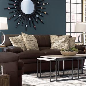Casual Three Seat Sofa with Heavy-Gauge Double Needle Stitching