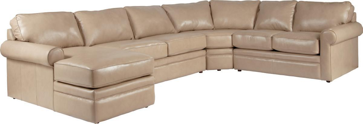 Collins Sectional Sleeper with Full Mattress by La-Z-Boy at Lindy's Furniture Company
