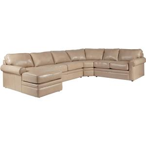Sectional Sleeper Sofa with Full Mattress