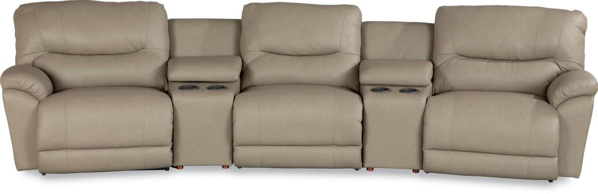 Dawson Power Reclining Home Theater Sectional by La-Z-Boy at Bennett's Furniture and Mattresses