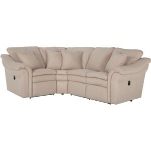3 Pc Reclining Sectional Sofa