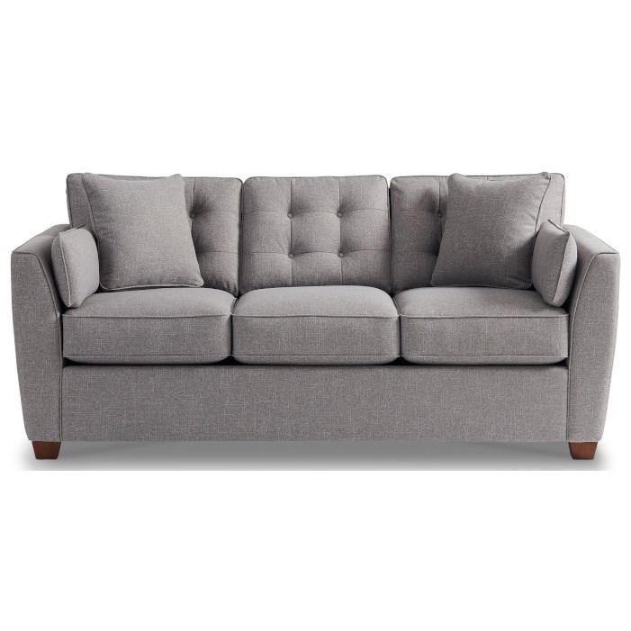 La Z Boy Dillon Casual Queen Sleeper Sofa with Supreme ...