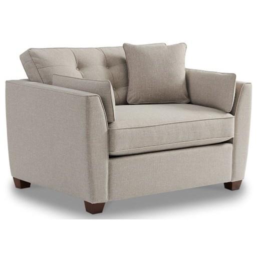 Dillon Twin Sleep Chair by La-Z-Boy at Jordan's Home Furnishings
