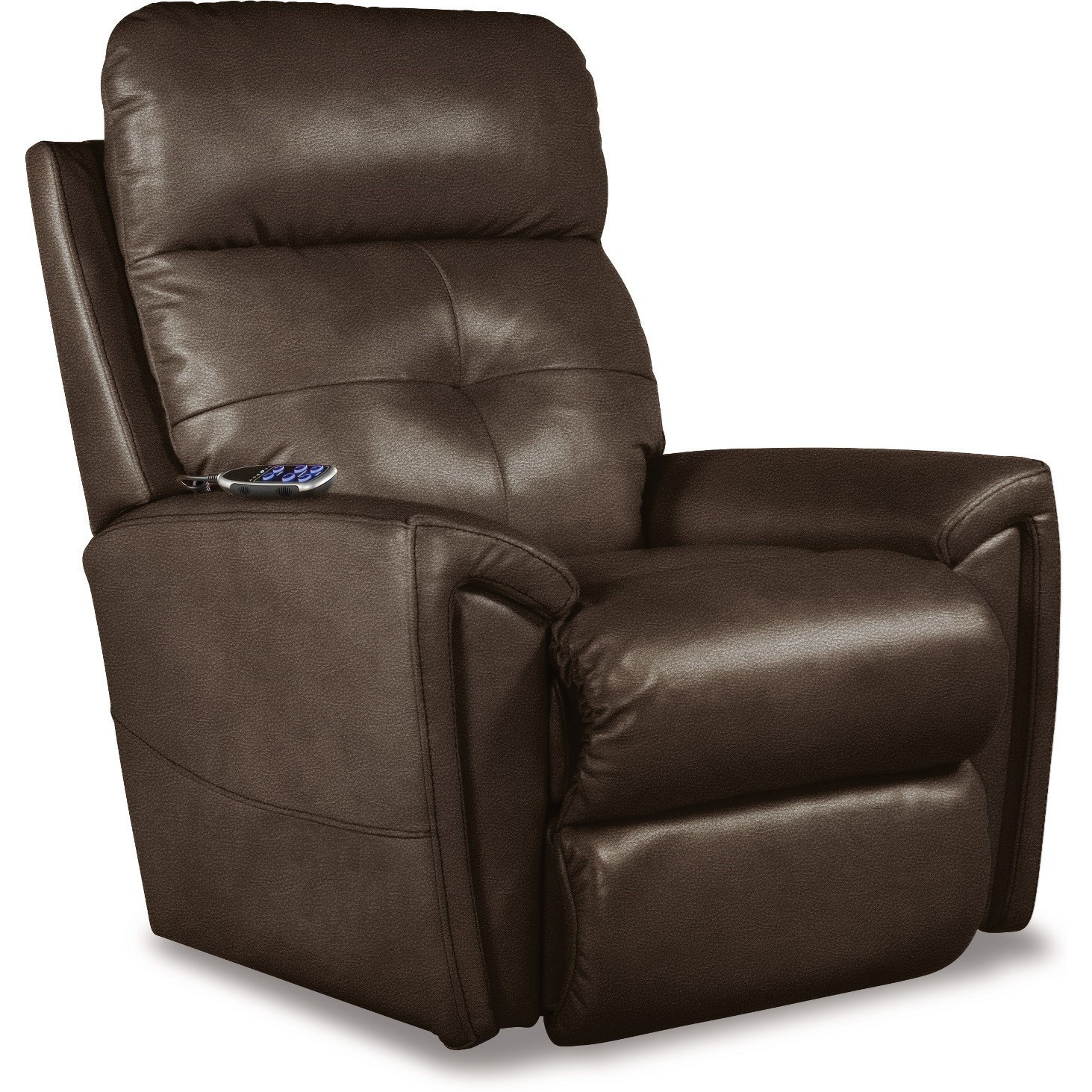Douglas Power Rocking Recliner w/ Headrest & Lumbar by La-Z-Boy at Fisher Home Furnishings