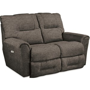 Casual La-Z-Time® Power-Recline™ with Power Headrest Full Reclining Loveseat