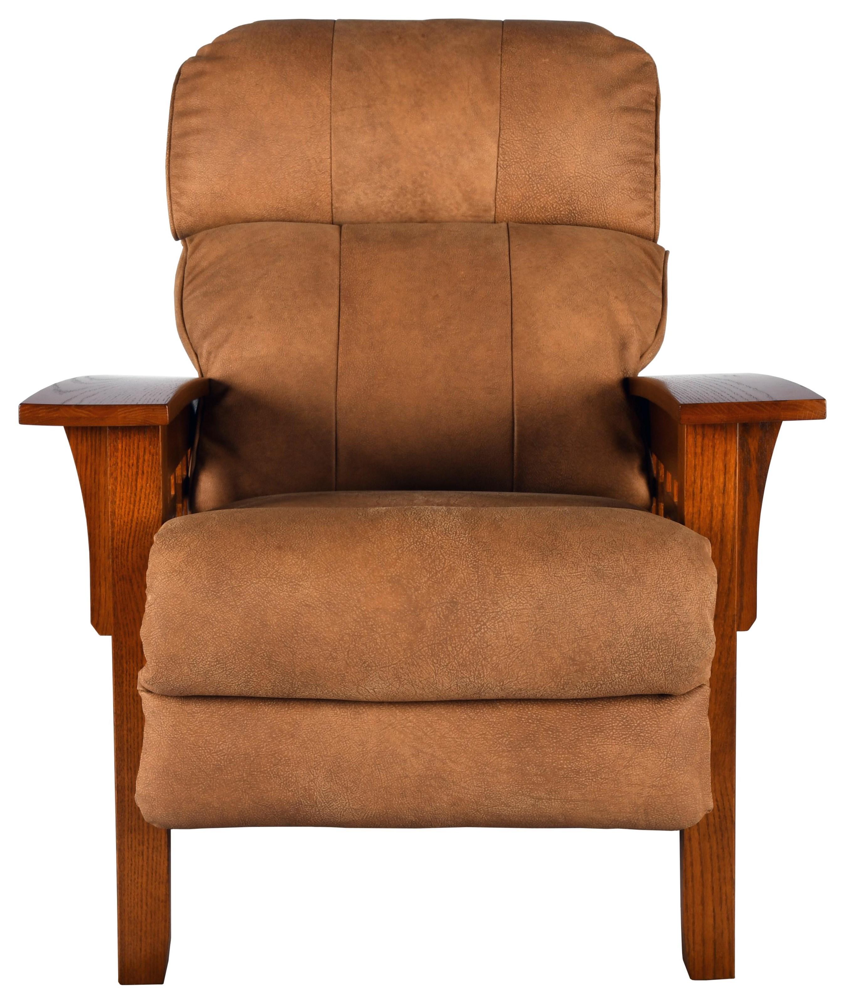 Eldorado High Leg Leather Recliner by La-Z-Boy at Bennett's Furniture and Mattresses