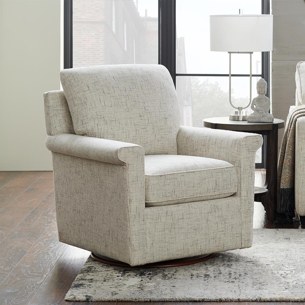 Ferndale Swivel Chair by La-Z-Boy at Bennett's Furniture and Mattresses