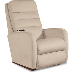 Contemporary Power-Recline-XR+ Rocking Recliner with Adjustable Headrest and Lumbar