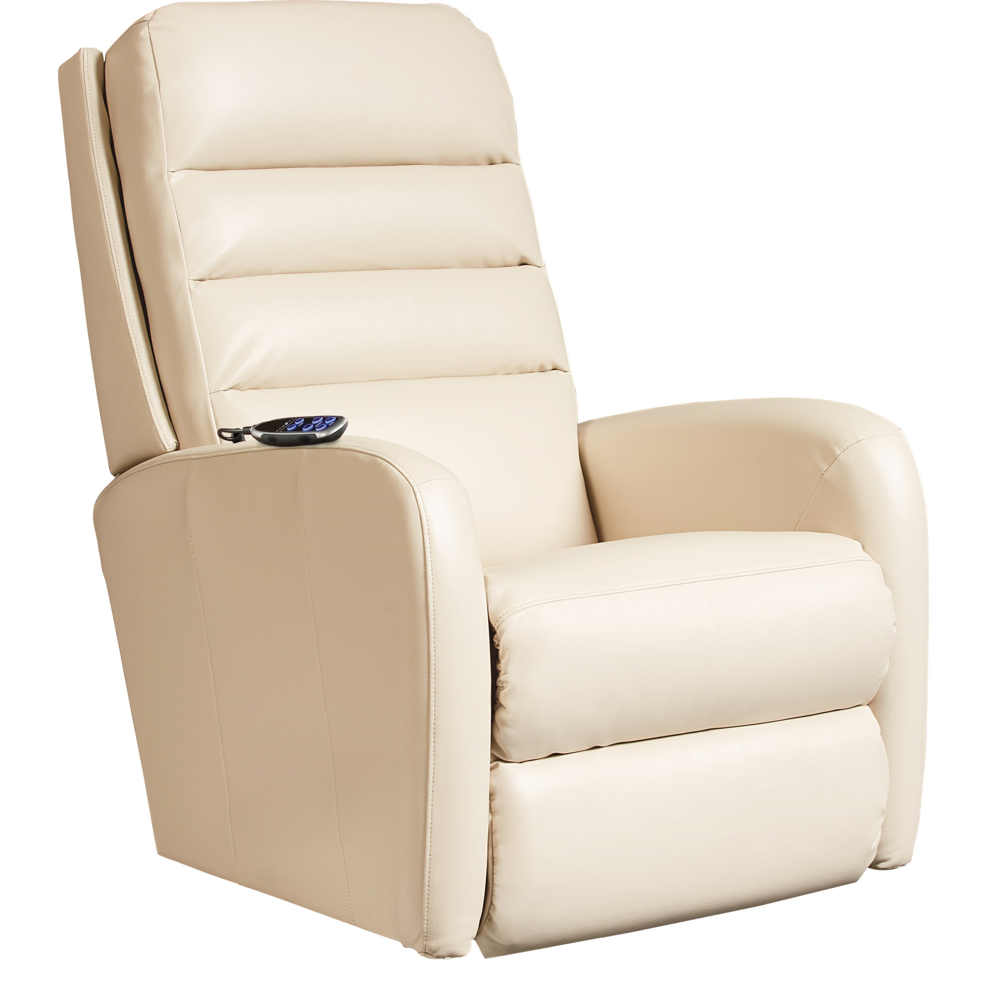 Forum Power Rocking Recliner w/ Headrest & Lumbar by La-Z-Boy at Novello Home Furnishings