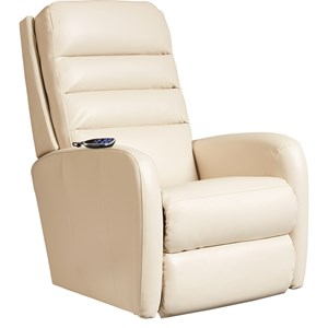 Contemporary Power-Recline-XRw™+ Wall Saver Recliner with Adjustable Headrest and Lumbar