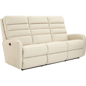 Contemporary Power-Recline-XRw™ Wall Saver Reclining Sofa