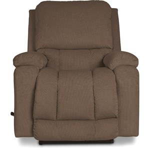 Casual RECLINA-ROCKER Recliner with Bucket Seat