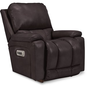Casual PowerReclineXR+ RECLINA-ROCKER Recliner with Bucket Seat