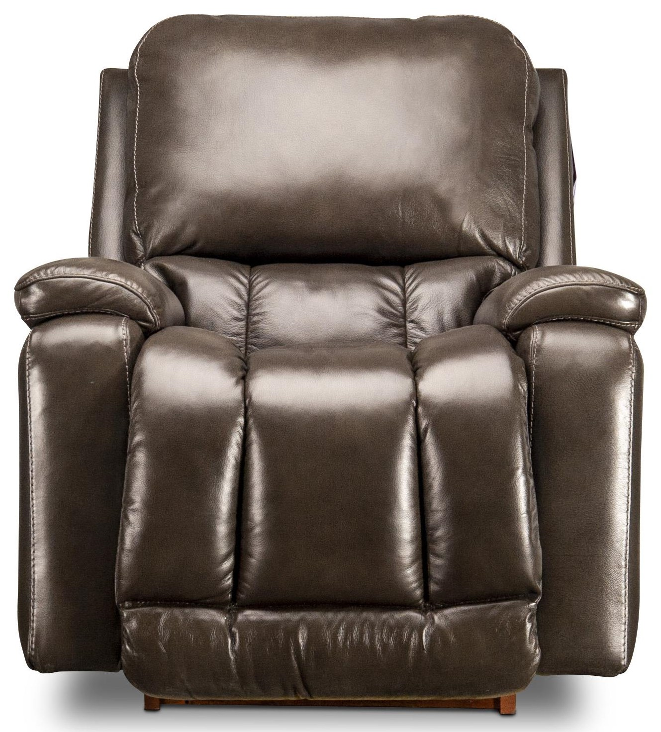 Greyson Greyson Leather Match Power Recliner by La-Z-Boy at Morris Home