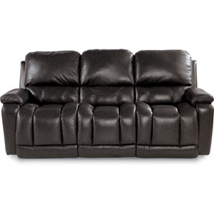Casual Power La-Z-Time?Full Reclining Sofa with Bucket Seating