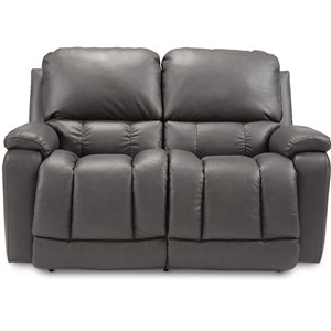 Casual Power La-Z-Time Reclining Loveseat with USB Charging Ports and Power Tilt Headrests