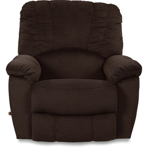 Casual RECLINA-WAY®Wall Recliner with Channel-Stitched Back