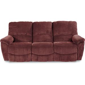 Casual La-Z-Time® Full Reclining Sofa with Channel-Stitched Back
