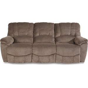 Casual Power La-Z-Time® Full Reclining Sofa with Channel-Stitched Back