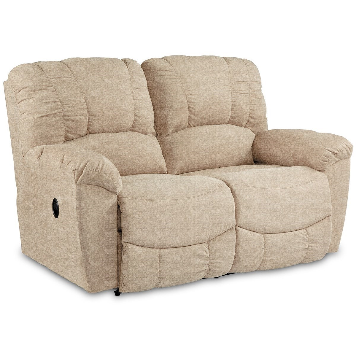 Hayes Reclining Loveseat by La-Z-Boy at Novello Home Furnishings
