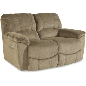 Casual La-Z-Time® Power Reclining Loveseat with Power Headrests