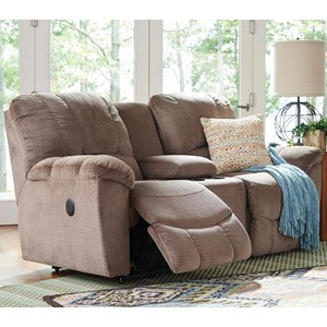 La-Z-Boy Hayes La-Z-Time® Full Reclining Loveseat w/Console
