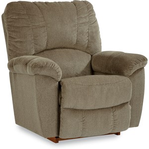 Casual Power-Recline-XR RECLINA-ROCKER??with Channel-Stitched Back
