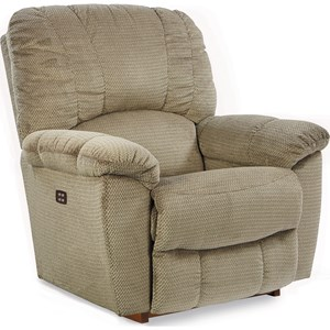 Casual Power-Recline-XR RECLINA-ROCKER® with Channel-Stitched Back
