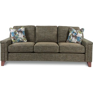 Contemporary Sofa with Comfort Core Cushion