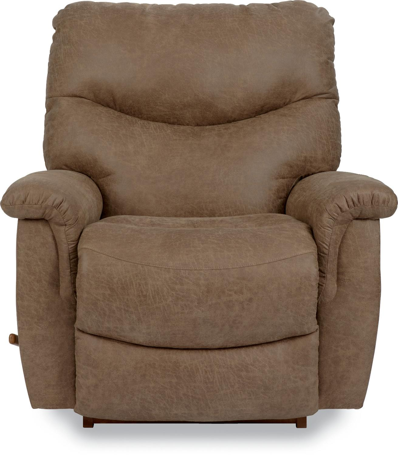 James RECLINA-ROCKER® Recliner by La-Z-Boy at VanDrie Home Furnishings