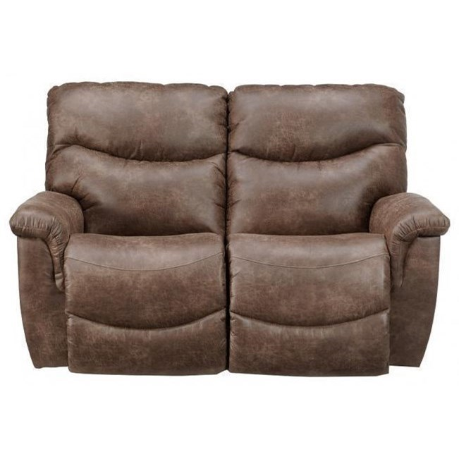 James Reclining Loveseat by La-Z-Boy at Walker's Furniture